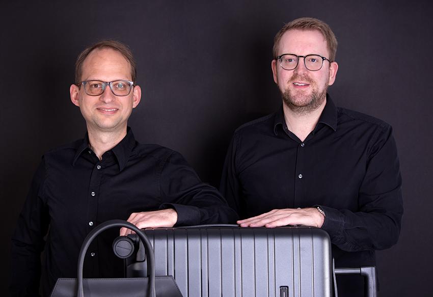 Florian Weber und Arno Dolzer CEO tasko